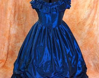 Victorian Crinoline Sissi Ball Civil War  Dress, XL/XXL