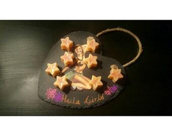 Pack of 4 Hula Girls Natural Soy Wax Melts