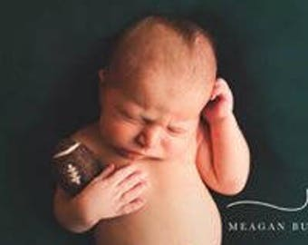 Felted Football Photo Prop/ Newborn Photo Prop/ Sport Ball Photo Props