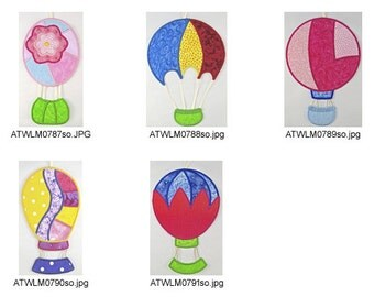 ITH-Patchy-Hot-Air-Balloons-5x7-1. ( 5 Machine Embroidery Designs from ATW )