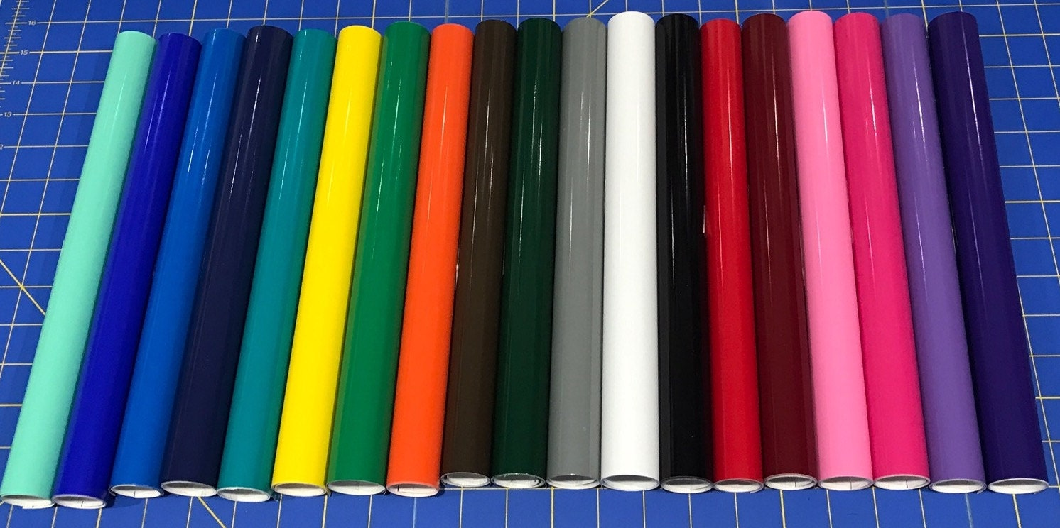 Vinyl For Cricut Silhouette Oracal 651 Permanent Adhesive