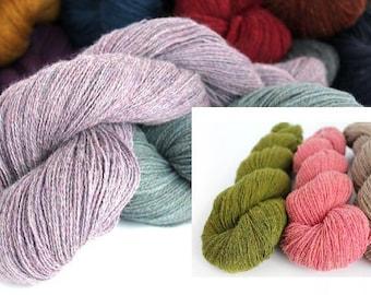2 skeins/lot 100% Tibetan yak hand knitting yarn High quality