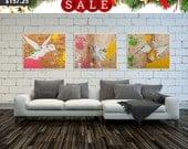 Hummingbird Print, Set of 3,  Prints, Set of Wall Art, Hummingbird Art, Hummingbird Painting, Love Birds, Bird Print, #542HM #543HM #544HM