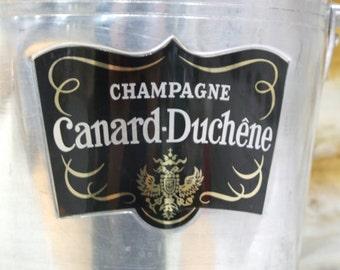 Champagne Ice Bucket // Champagne Bucket // Canard-Duchene