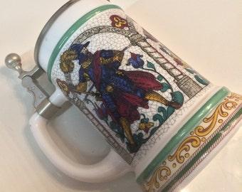 Beer mug from BMF, beer jug, beer stein,made by BMF Munich