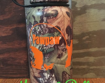 Mossy Oak camo coffee thermos