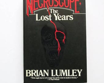 Necroscope: The Lost Years by Brian Lumley  Hardcover 1st Edition   Horror