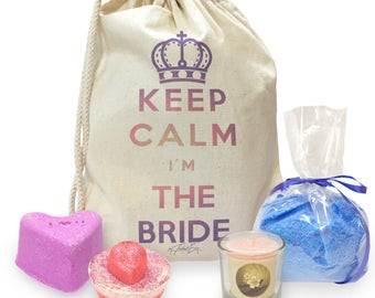 Keep Calm I'm The Bride Mini Spa In A Bag Collection 2