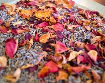 Lavender + Rose Petals