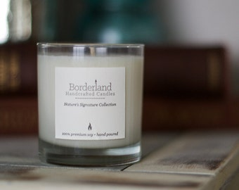 Water Lily   Handcrafted Soy Candle