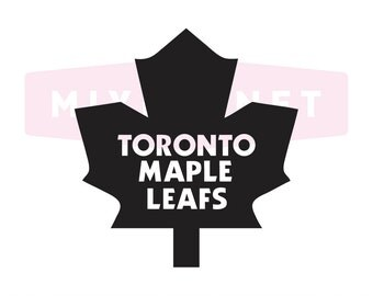 Toronto Maple Leafs Cut Files, Toronto Maple Leafs SVG Files, Toronto Maple SVG Cutting Files, Maple Leaf Cuttable SVG File Instant Download