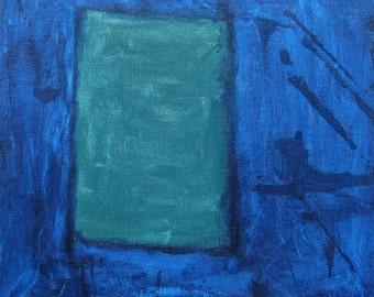 Untitled Green & Blue