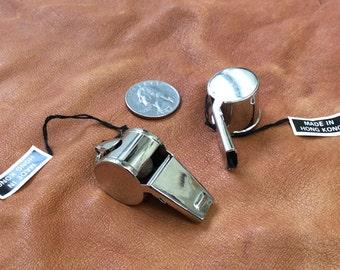 Vintage pea whistle - 2 pieces - #823