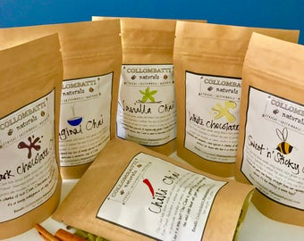PICK ANY TWO - Australian Loose Leaf Chai - Black Tea - A Wonderful Birthday, Christmas, Mother's or Fathers Day gift!