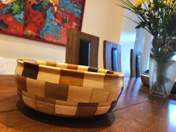 Large Segmented Fruit Bowl!