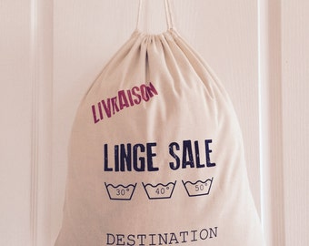 Dirty laundry bag
