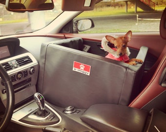 Transporter Car Bed Dog Safety in the Car Best Quality Seat Belt Front Seat bed