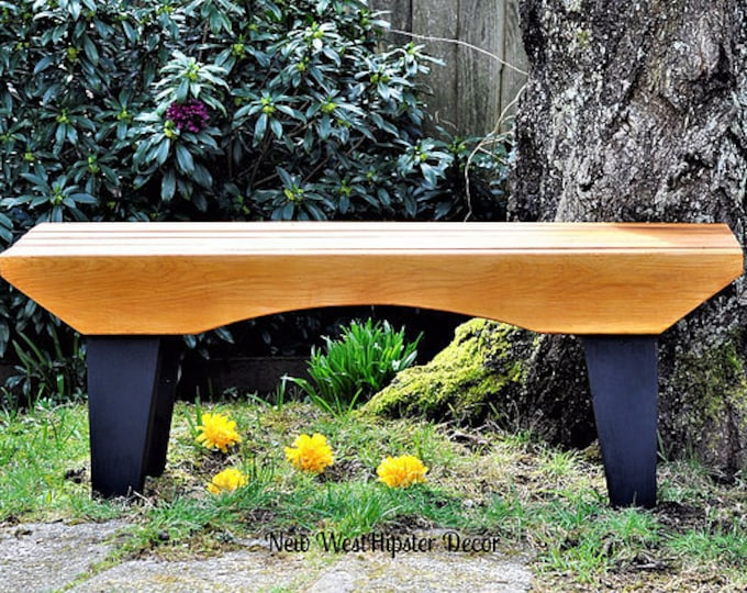 Custom Cedar bench, custom design, indoor bench, outdoor bench, cedar furniture, patio bench, arts n crafts seating, japanese bench