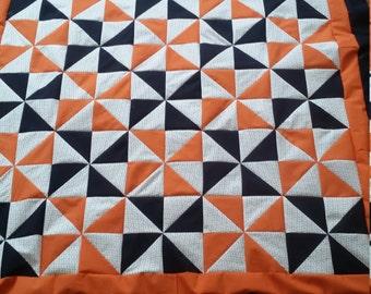 Syracuse baby quilt