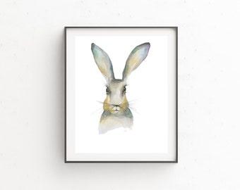 Framed hare