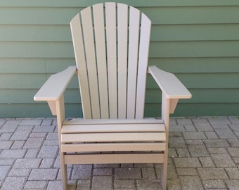 Poly Lumber Adirondack Chair