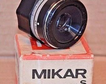 Lens Mikar S. 1 / 4.5 F = 55. Poland. Good condition