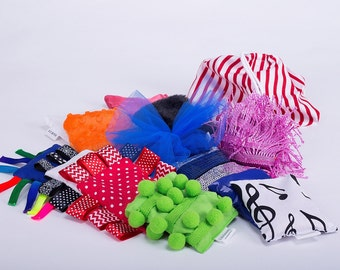 Sensory Bean bags- a set of 12 beanbgas