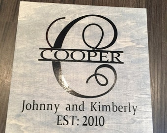 Personalized gift for the couple