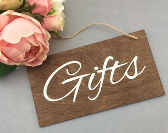 Gift Wedding Sign- Wedding Sign-Rustic Wedding Sign