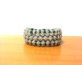 Traitor Knot Paracord Bracelet, Paracord Bracelet, Woven Bracelet