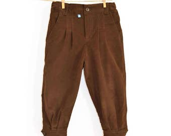 Pants Kids pants, Velvet argentine child, boy pants, pleated, velvet kids trousers, trousers, argentinian pants boy pants