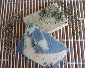 Bundle Natural Handmade Soap , Honey Nettle Beer Soap, Lavender Goat Milk Soap, Relaxing, Bar Soap, Homemade, Natural skincare, UK, EU, USA