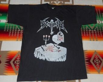 Early 90s Sinoath T Shirt Size Medium morbid angel amorphis unleashed asphyx  morgoth death metal