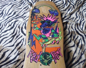 MINT 80's old school deck Skateboard