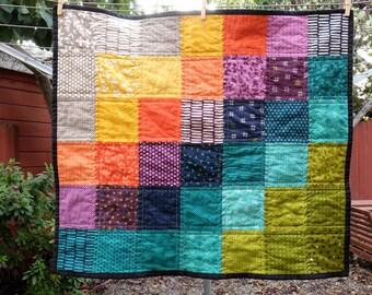 Modern Mini Infant Blanket/Quilt