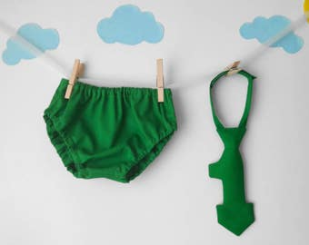 first birthday boy outfit, cake smash outfit boy, green cake smash outfit, 1st birthday boy outfit, diaper cover tie,baby tie,cake smash tie