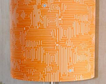 Maze lampshade, kid's room, fun, games, interactive