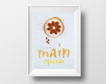 """Quilled """"You're My Main Squeeze"""" Card"""