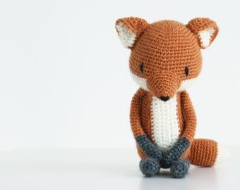 LuiFox Amigurumi crochet pattern LuiLuh.handmade fox PDF
