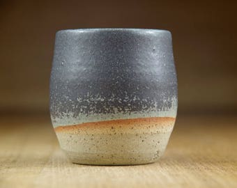 Ceramic Cup, Handless Cup, Small Pottery Tumbler, Expresso Cup