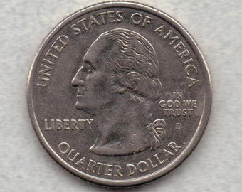 2003 D Missouri State Quarter Off Metal/ Struck on Foreign coin Error Coin