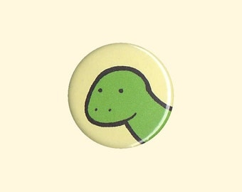 Dinosaur Badge - dinosaur pin, dinosaur button, kid's button, children's badge, cute button