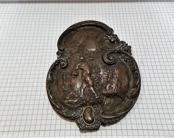 Original Baroque Bronze Decorative
