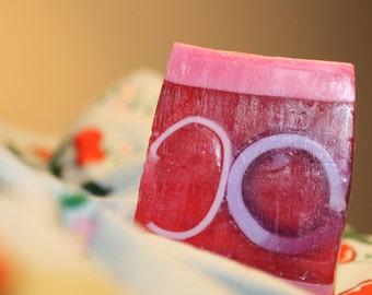 Raspberry Twist soap