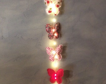 Bright Garland hanging heart for baby room deco