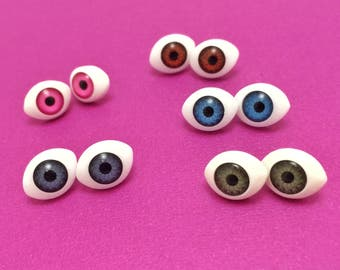 Eyeball Stud Earrings