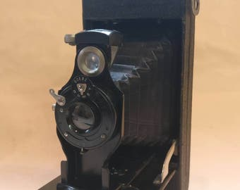 Vintage Goerz Roll Film Tengor Camera