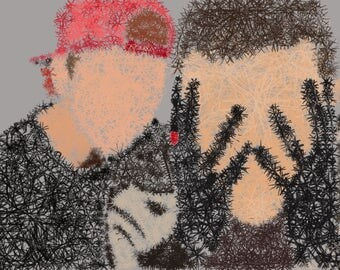 Tyler Joseph and Josh Dun Digital Artwork