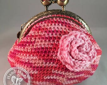 Shades of Pink *Coin Purse