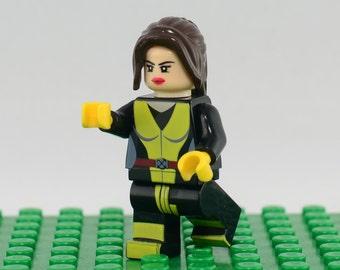 Kitty Pryde Custom minifigure (Lego Compatible) Marvel Comics Katherine Pride Shadowcat Superhero X-Men SHIELD New Mutants Christmas Gift #2